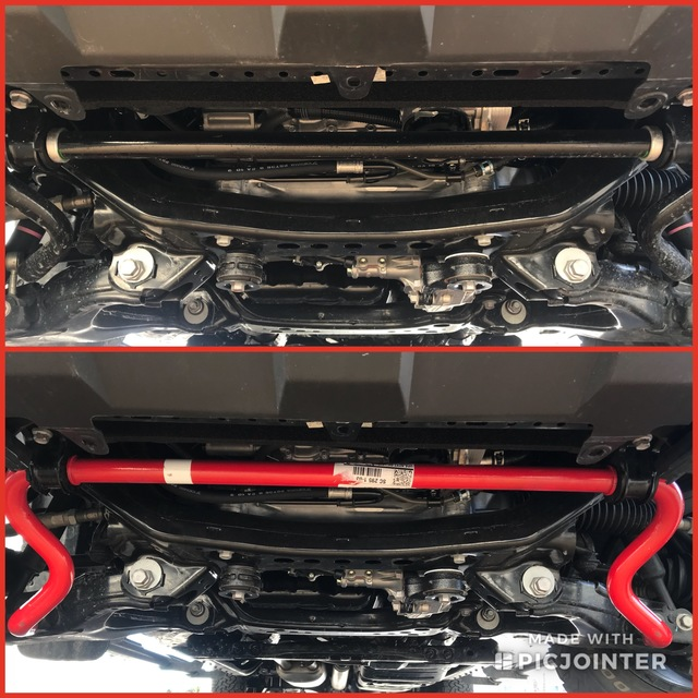 TRD Sport Front Sway Bar