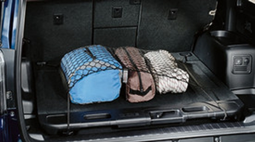 Cargo Net - Spider, with Sliding Tray