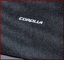 Carpeted Trunk Mat - Black, with rear heater