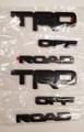 4Runner Black Overlay Bundle - TRD Off Road