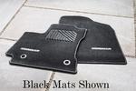 Carpet Mats - Silver Thread, Auto Trans
