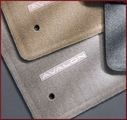 Carpeted Floor Mats - Light Gray