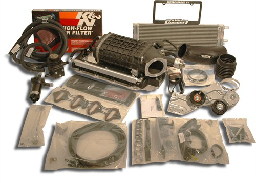 Chevrolet GMC Truck/SUV 2003-2004 5.3L Flex Fuel Magnuson Supercharger