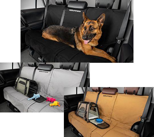 Pet Seat Cover - black, gray, or tan