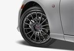 "TRD 17"" 15-Spoke Alloy Wheels Matte Gunmetal Dark"