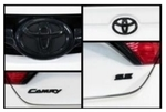 Camry Black Overlay Bundle (SE & XSE W/Smart Entry)