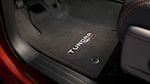 Carpeted TRD Pro Floor Mats Black