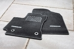 Carpet Mats - L Model Matte, Black Auto Trans
