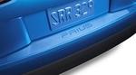 Rear Bumper Applique with Texture