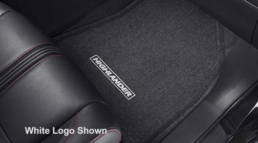 Carpeted Floor Mats Special Edition, Red Logo