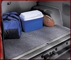 Cargo Mat - Taupe; W/Out 3rd Row & W/Tray