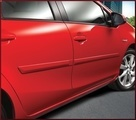 Body Side Moldings - Color Keyed