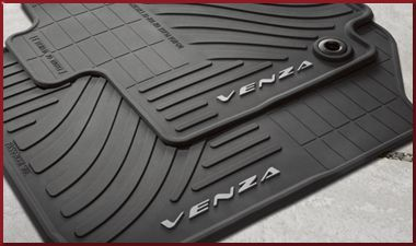 All-Weather Floor Mats Black, 4-piece set