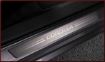 Corolla Door Sill Enhancements