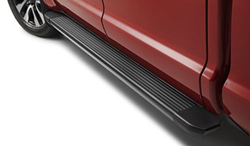 Classic Running Boards, Black