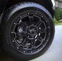 """20"""" Black Gunner Wheel"""