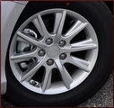 """16"""" Alloy Wheel; Complete with Caps and Lug"""