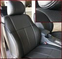 Clazzio Perforated Leather Seat Covers 2-Row Model