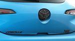 Corolla Hatchback Blackout Emblem Overlays - Gloss Black XSE
