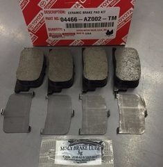 Genuine Toyota Rear Brake Pad Set with Shims