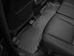2014-2017 Highlander Hybrid and non Hybrid Models With 2nd Row Bench Seats, 2nd Row Floor Liner - Black