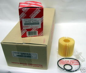 10 Pack of Genuine Toyota Oil Filters