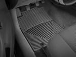 2012-2015 Tacoma Regular Cab 2pc Set of Rubber Floormats - Black