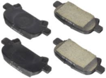 "FRONT BRAKE PADS....... Or Search For ""04465-AZ010-TM"" for Genuine Toyota Ceramic Economy Pads"