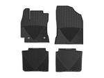 2014-2017 Corolla Automatic Transmission 4pc Set of Rubber Floormats - Black