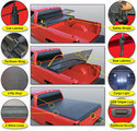2014-2018 TONNEAU SOFT COVER TRI-FOLD 8.1 BED By Rugged Cover