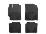 2012-2017 Camry 4pc Set of Rubber Floormats - Black