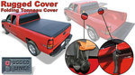 2005-2015 Tacoma 6' Bed, Soft Tri-fold Tonneau Cover by Rugged Cover
