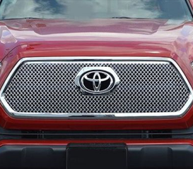 ABS Chrome Mesh Grille Insert 2016-  Tacoma