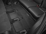2014-2017 Highlander Non Hybrid With 2nd Row Bench Seats, 3rd Row Floor Liner - Black