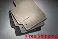 2007-2011 Camry Crpt Floor Mats, Brown