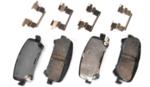 Brake Pads, Left Rear, Right Rear