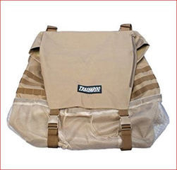 Trasharoo! Spare Tire Trash Bag in Brown Color