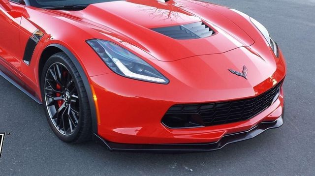 NEW GM FRONT SPOILER STAGE 2-3 SPLITTER 2014-19 Z06/STINGRAY/GRAND SPORT C7 CARBON FLASH