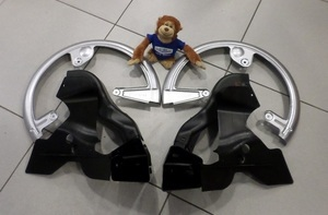 Brake Rotor Cooling Duct Kit w/ Wheel Blockers