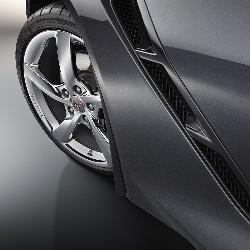 C7 Chevrolet Corvette Molded Splash Guards Front & Rear