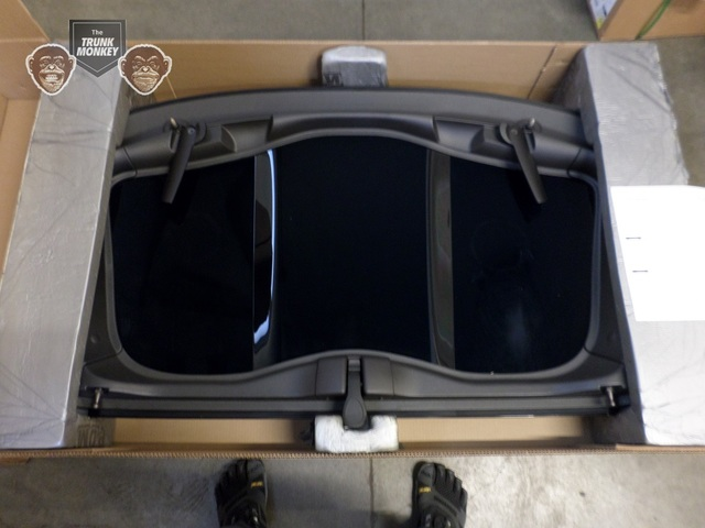 Transparent Tinted Removable Roof Panel Top Corvette C7 OEM - GM (84141731)