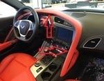 Corvette C7 Instrument Panel Upper Dash Trim Pad - Adrenaline Red 2LT