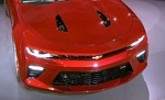 Camaro Hood Scoop Set, Black