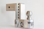 Weigh Safe 6-inch Drop Hitch – 3″ Shaft