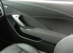 Black Suede Driver Door Trim Panel