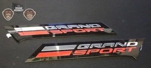 Grand Sport Fender Vent Emblem Pair