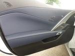 Twilight Blue Driver Door Trim Panel