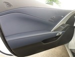 Twilight Blue Driver Door Trim Panel
