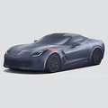 Premium Indoor Dust Cover with Fully Rendered Corvette Grand Sport