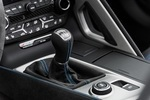 C7 Corvette Genuine GM 7SPD Manual Suede Shift Knob Vivid Blue Stitching